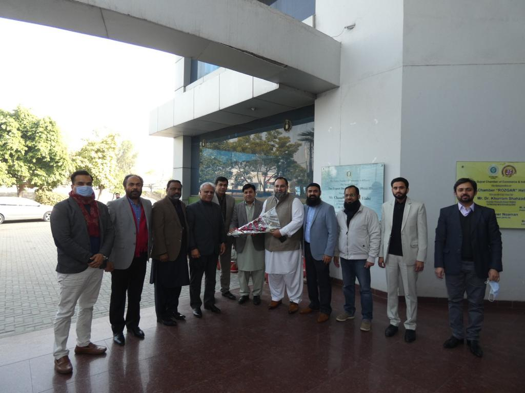 Visit of SCCI Delegation to Gujrat Chamber of Commerce and Industry on 12 Jan, 2021