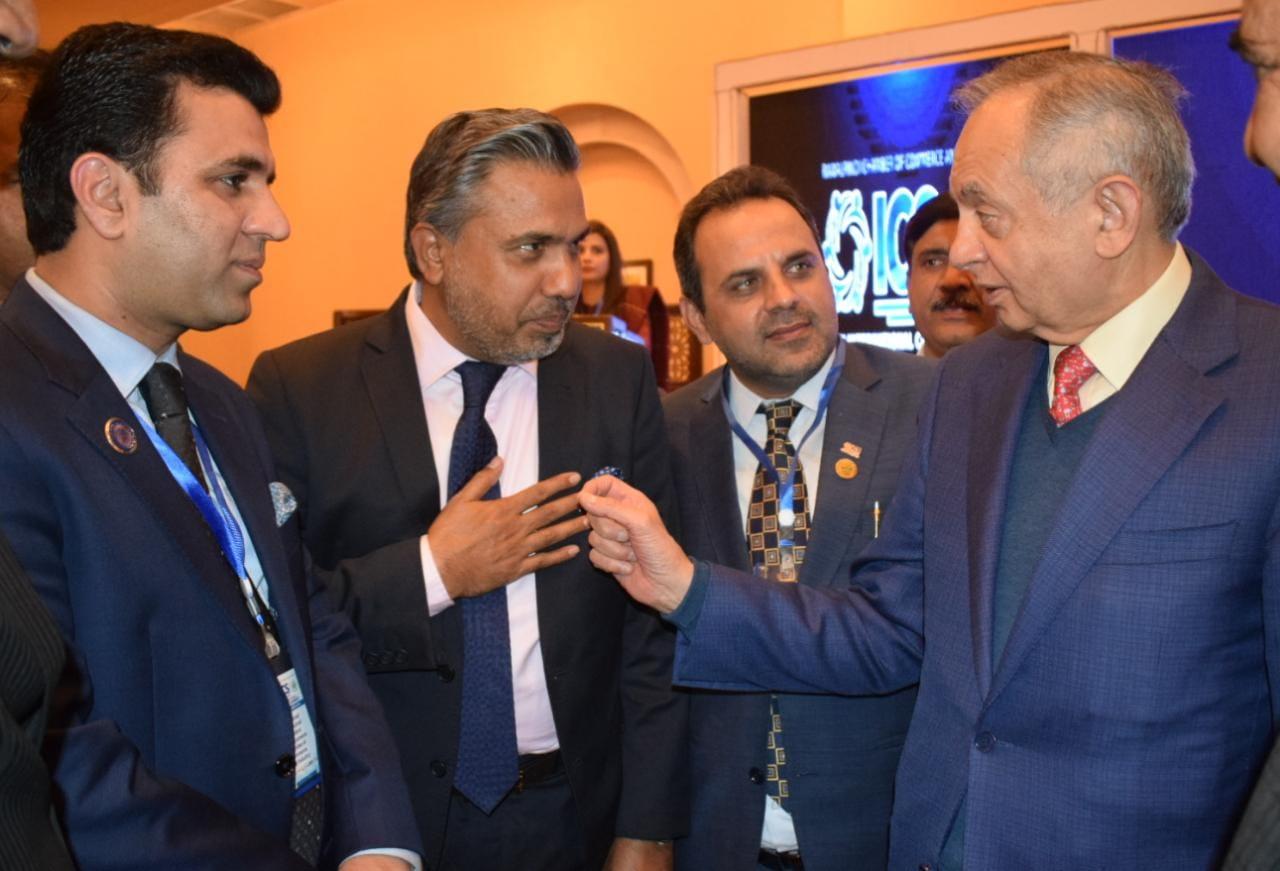 Mr. Qaiser Iqbal Baryar, President SCCI, at RCCI's International Chambers Summit 2021