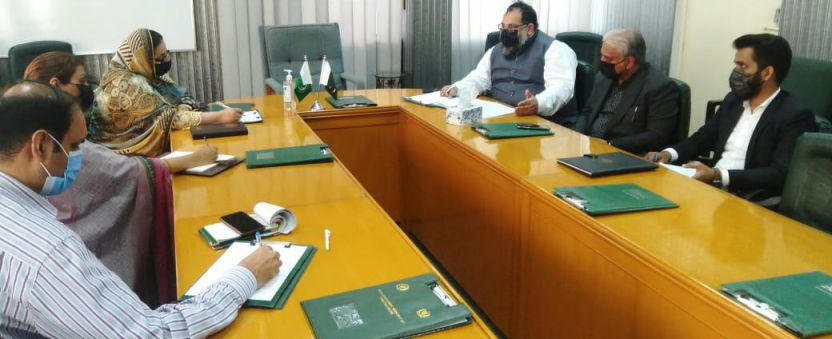 Mr. Khurram Aslam, SVP and Mr. Ansar Aziz Puri, VP, SCCI had a meeting with DG TDAP Punjab and TDAP Officials at Lahore on March 10, 2021, to discuss the matters of EDF, Exhibitions, Delegations, and Training for Exporters for Virtual Exhibitions.