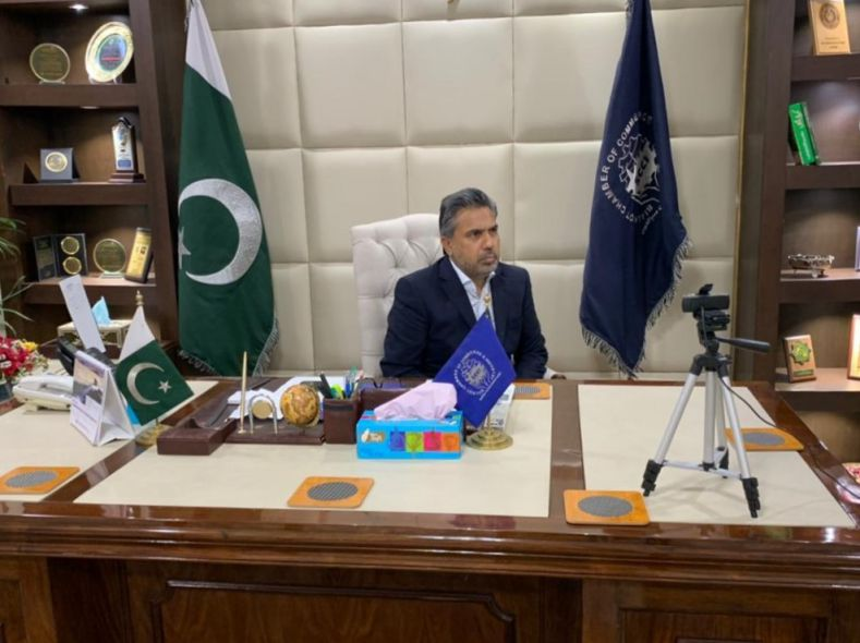 On April 22, 2021, A webinar was arranged between the Sialkot Chamber and The Chamber of Importers of the Argentine Republic (CIRA) on the Sports Goods Industry. Mr. Qaisar Iqbal Baryar briefed the participants about the Industry of Sialkot and milestones achieved by the Sports Goods Industry and also proposed CIRA to sign an MOU for future collaborations and exchange of delegations.  Lic. Ruben Garcia, President, CIRA assured President, Sialkot Chamber of his full consent in alliance for the promotion of the Sports Goods Industry of Sialkot.