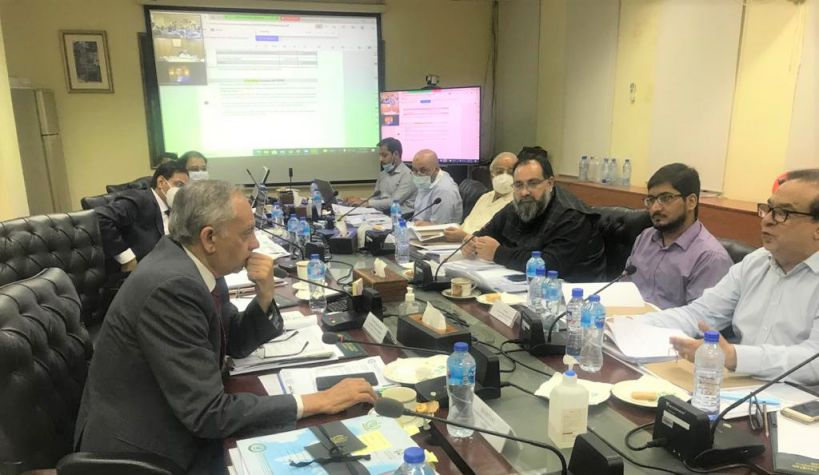 On June 16, 2021, Mr. Khuram Aslam, Senior Vice President, SCCI attended 20th Finance Committee meeting of the Export Development Fund (EDF) Board held at Ministry of Commerce, Islamabad under the Chairmanship of Mr. Abdul Razzak Dawood, Advisor to Prime Minister on Commerce & Investment.