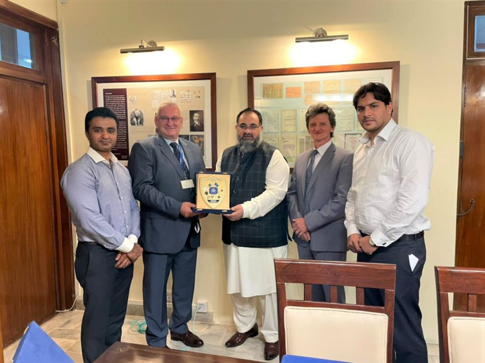 On July 26, 2021, A delegation of Sialkot Chamber of Commerce & Industry led by Mr. Khuram  Aslam , Senior Vice President of SCCI – in the company of Mr. Asif Manzoor and Mr. Muhammad Idris, Executive Members SCCI paid a visit to Embassy of Hungary, Islamabad and had meeting with Dr. Istvan Grafjodi, Commercial Counsellor, Embassy of Hungary in Pakistan to discuss the avenues to increase the bilateral trade between the two countries.