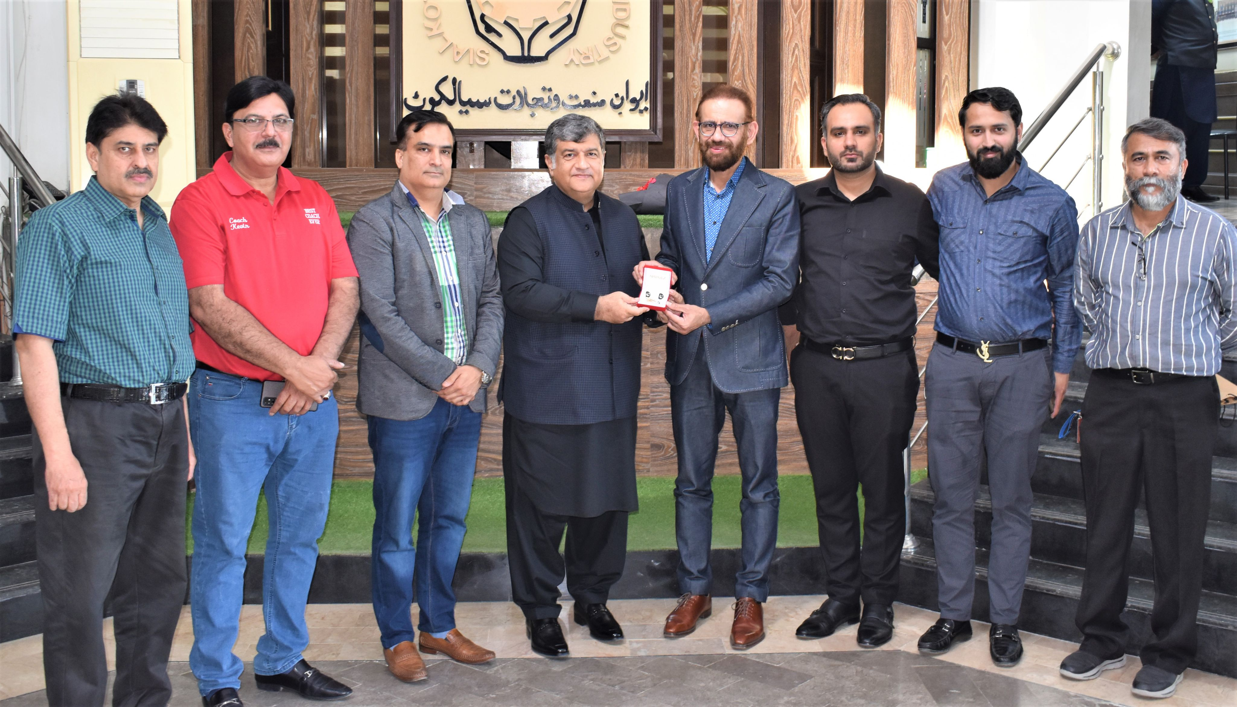 October 26, 2021, Syed Wahaj Siraj, Chief Executive Officer & Co-Founder Nayatel, called on President, Sialkot Chamber of Commerce & Industry for a meeting to discuss avenues of cooperation and promotion of ICT Exports from the Industrial City of Sialkot. President, SCCI lauded the role of Nayatel in spearheading the tech revolution in Pakistan by providing cutting-edge Internet and Cloud and scores of other ICT services to the industry and the consumer market. The President Chamber said that Pakistan was making strides in domains of Software Exports, E-Commerce, and Freelancing and that the tech industry owed a great deal to high-speed internet providers like Nayatel. On the occasion, Mr. Akbar shared his vision for a bustling IT Industry in Sialkot apart from already established sectors. He was of the view that the talent of the youth of Sialkot should be channelized in this domain and that the IT graduates of the city should be given a platform to exploit the tremendous potential of the global IT market. The President solicited support from Nayatel Chief in realizing the vision and building necessary infrastructure in Sialkot.  Mr. Wahaj Siraj appreciated the industrial dynamism of Sialkot and said that he had a profound attachment with the city because of Dr. Allama Iqbal and the legacy of producing entrepreneurial laurels. He said that Sialkot had become a global phenomenon thanks to its hardworking craftsmen and business leaders working in various sectors. He also acknowledged the self-reliance of the people of Sialkot which had led them to successfully execute mega projects like Airport, Dry port, and Airline. Mr. Siraj stressed that the model of Sialkot should be replicated across Pakistan. During the meeting, Mr. Wahaj Siraj announced that Nayatel would soon be launching in Sialkot with cutting-edge services for both the Corporate and Consumer market. He also mentioned offering tailor-made services for SMEs of Sialkot including secured email servers, cloud-